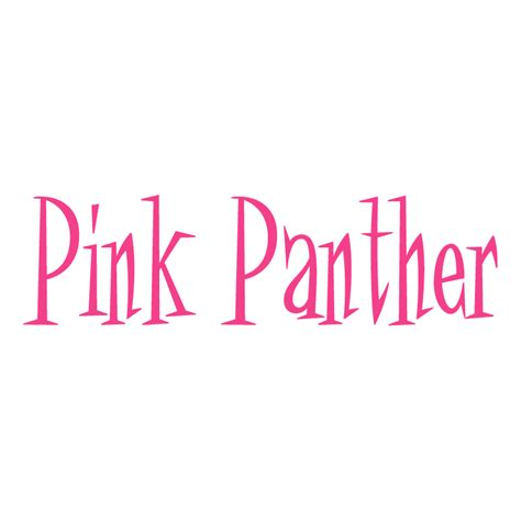pink panther free vector 4vector