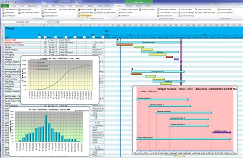 Gantt Chart Excel 2007 Template by Sle Chart Templates 187 Free Gantt Chart Template Excel