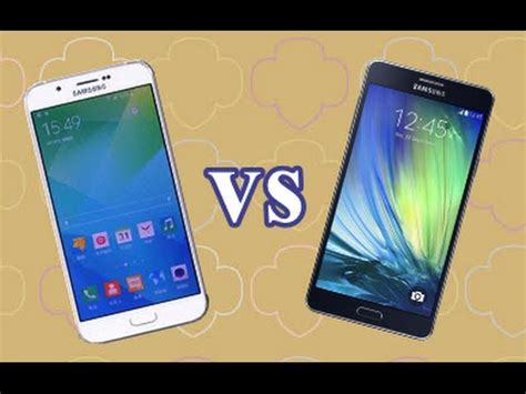 Samsung A8 Vs A7 Samsung Galaxy A8 Vs Samsung Galaxy A7 Look
