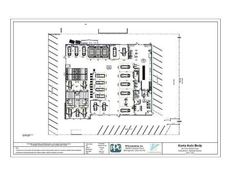 automotive shop layout floor plan ppg mvp mvp tools services