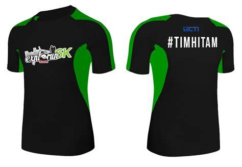 Kaos Tshirt The Maze Runner Hitam explorun 2016 just run lah