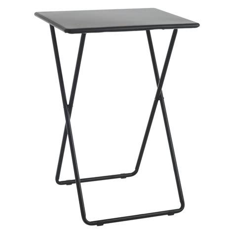 airo black metal folding table buy now at habitat uk