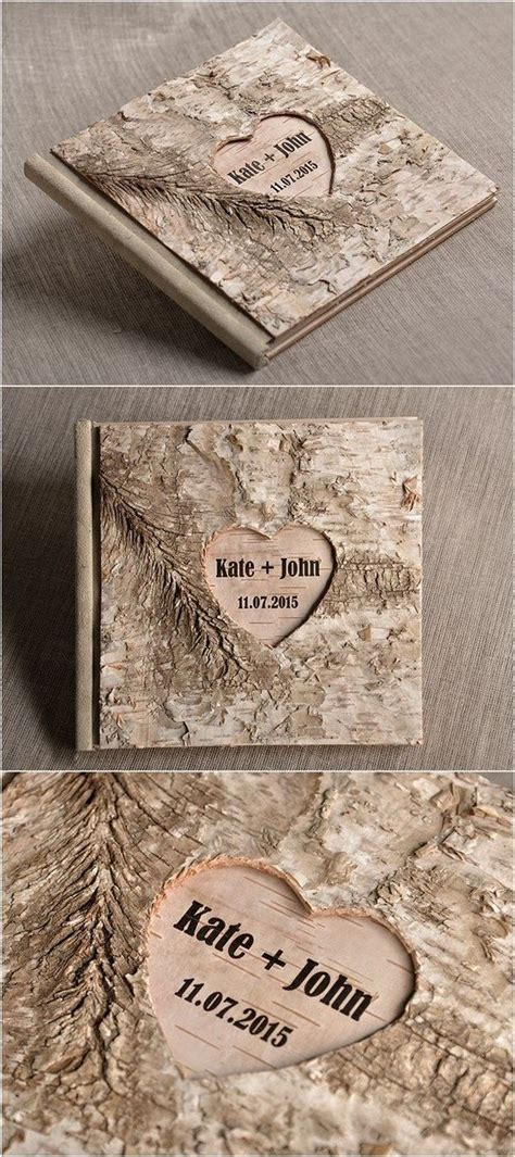 Guest Book Design For Wedding by Rustic Guest Book Design For Wedding 25 Creative Maxx Ideas