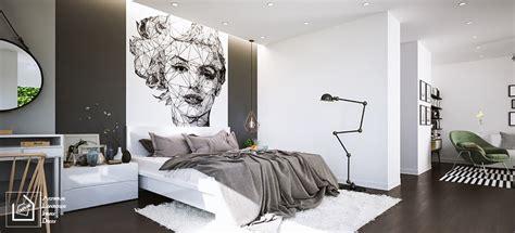 Desain Kamar Mandi Nuansa Hitam Putih | 59 desain kamar tidur nuansa hitam putih