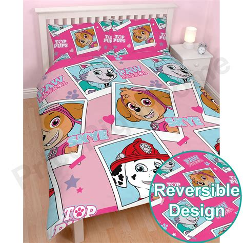 where to buy bedding paw patrol girls single double junior duvet cover sets