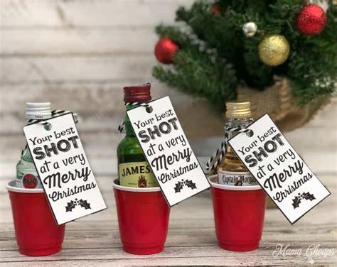 shot   merry christmas fun alcohol gift idea mama cheaps