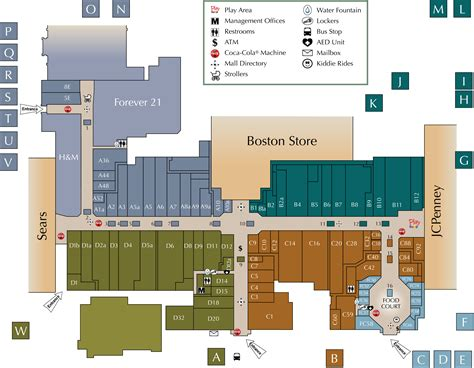 layout of west town mall knoxville mall directory west towne mall