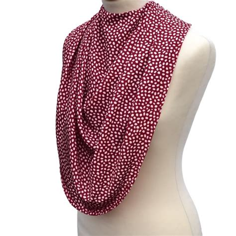 Pashmina Standar 4 pashmina style clothes protector dotted burgandy alzheimer s society shop