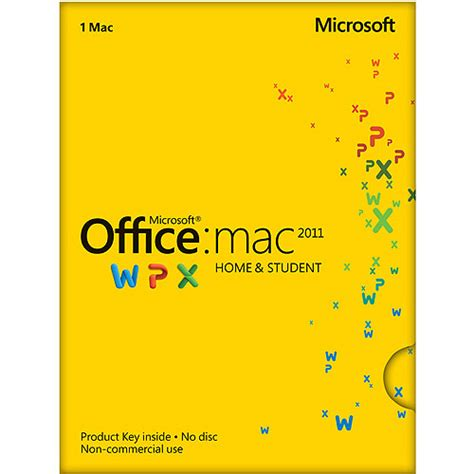 Microsoft Office For Mac Home Student microsoft office mac home and student 2011 walmart