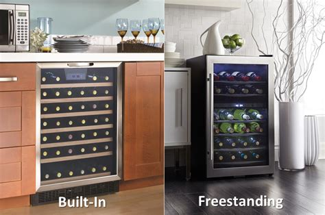 built in bar built ins and wine fridge on pinterest wine beverage and bar refrigeration freestanding vs