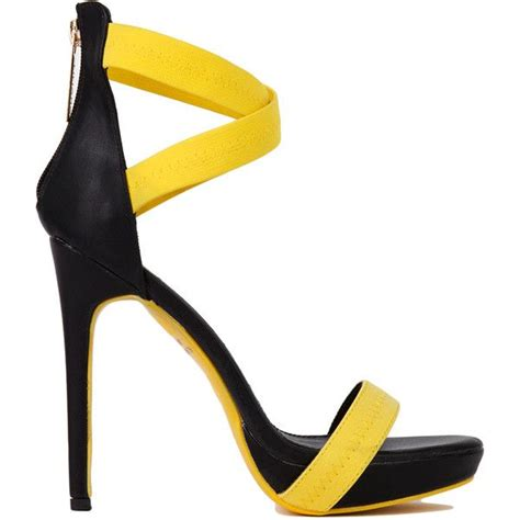 yellow strappy high heel sandals yellow strappy high heel sandals 28 images bright