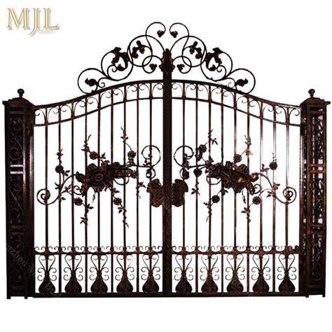china quality guaranteed  style steel main iron gate