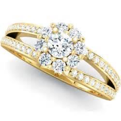 wedding ring gold gold engagement rings set wedding rings