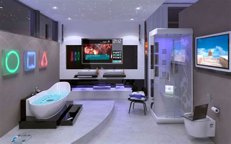 futuristic bathroom bathroom of the future wallpapers and images wallpapers