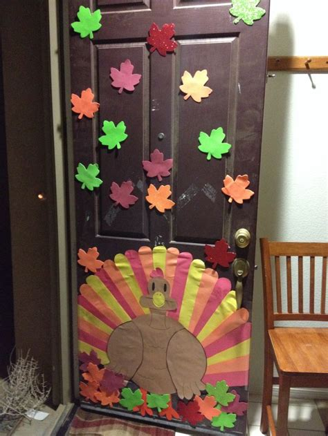thanksgiving door decorations thanksgiving party pinterest