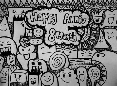 doodle icha doodle paling 45 contoh cara gambar doodle simple