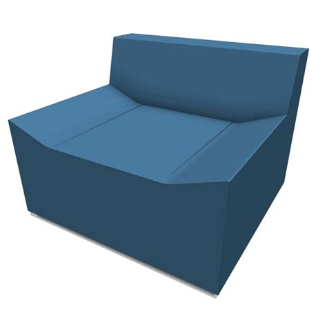 Bluedot Furniture by Dot Couchoid 10371 2 00 Revit Families Modern