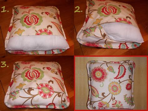 How To Make A Decorative Pillow by How To Make A Self Welted Envelope Pillow Cover