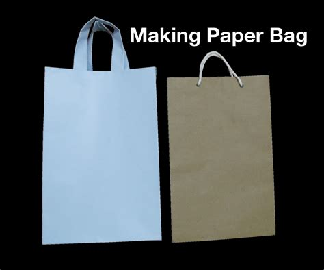 Steps Of Paper Bag - how to make paper bag