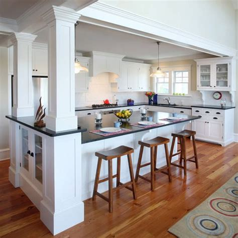 How To Remove Kitchen Wall Cabinets 25 Best Ideas About Kitchen Columns On Pinterest Exposed Brick Kitchen Kitchen Brick And Columns