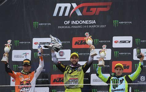 Kaos Mxgp Grand Prix Indonesia Motocross 1 shaun juarai mxgp indonesia 2017 merahputih