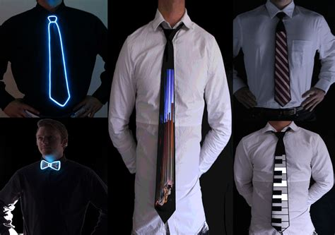 style ties for led animated neck ties by electric styles suit up out