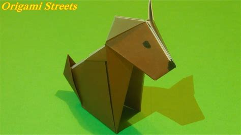 How To Make A Puppy Out Of Paper - how to make a out of paper origami origami