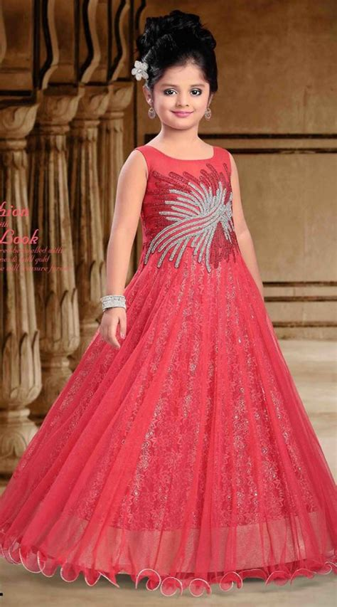 designing the beautiul salmon net designer readymade gown dt301441