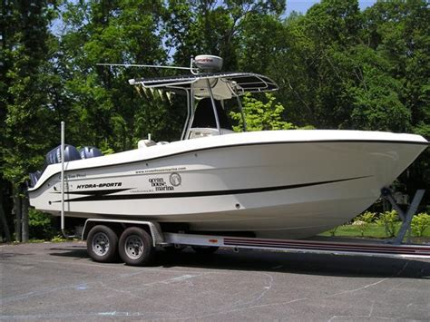 hydra sport boats prices 2006 hydra sports vector 2500cc price reduced the hull