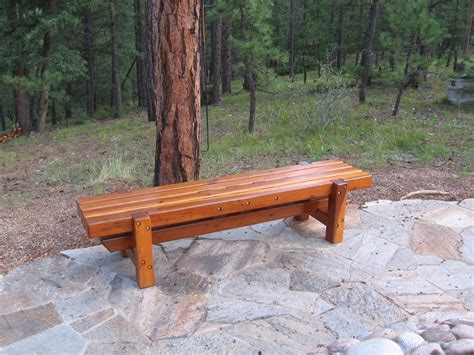 redwood bench redwood bench by jhtuckwell lumberjocks com