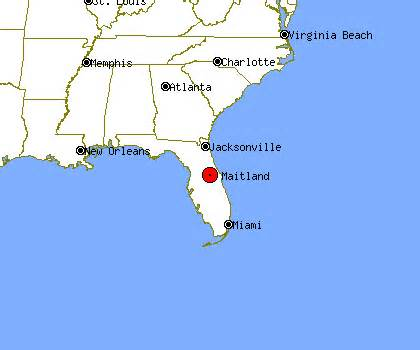 map of maitland florida maitland fl map