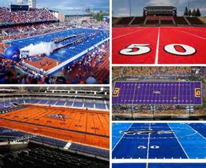 colored football fields sporting colors 10 colorful football fields urbanist