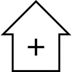 symbol haus haus mit kreuz symbol ios 7 schnittstelle der