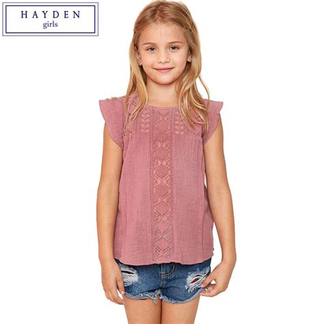 Blouse 7 8 Sleeves hayden ruffle sleeve top lace blouse sleeve shirts for teenagers age 7 8 9 10 11