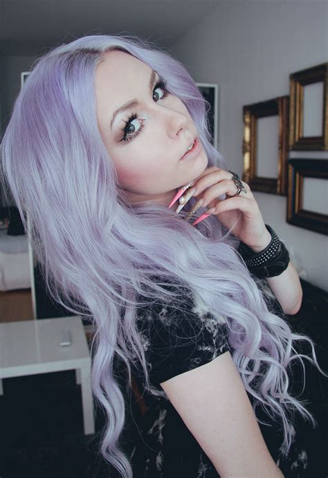 lilac hair color 1000 ideas about pastel lilac hair on lilac