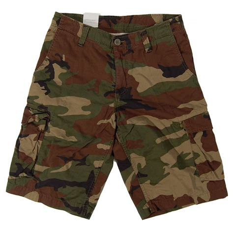 camo shorts carhartt thrift bermuda shorts camo green mens pants and