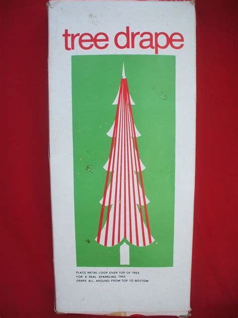 icicle drape for christmas tree vtg nib brite icicle tree drape 400 strands 5 foil tinsel britestar