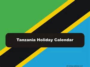 Tanzania Calendã 2018 Tanzania 2017 2018 Calendar