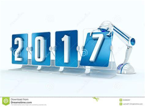 clipart buon anno buon anno 2017 illustrazione di stock immagine 53480297