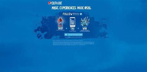 Pepsi Sweepstakes - pepsi outoftheblue sweepstakes win unexpected music experiences every day