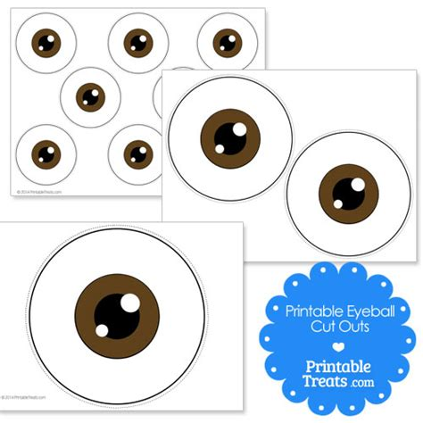 printable brown eyes eye ball printable clipart library