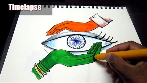 drawing themes for independence day creative drawing happy independence day for kids time