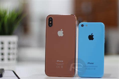 Hp Iphone 7c iphone 8 in un confronto dimensionale con i vecchi iphone