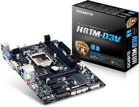 Motherboard Intel Gigabyte Ga H81m Ds2 ga h81m ds2 pc perspective