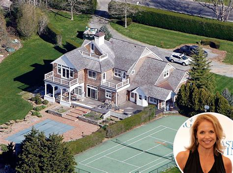 famous homes katie couric from celebrity homes in the htons e news