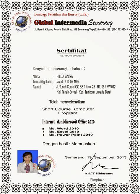 Kursus Microsoft Office kursus komputer semarang sertifikat komputer tanpa kursus