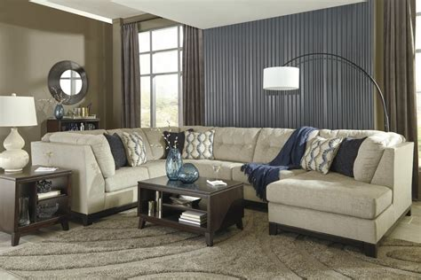 laf sofa rooms to go beckendorf chalk 3 pc laf sofa sectional 15004 66 34