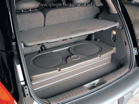 2001 Audio Kitchener by Professional Custom Pt Cruiser Subwoofer Enclosure With 2