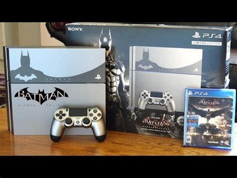 Ps4 Bundle Giveaway - console unboxing batman arkham knight limited editio doovi