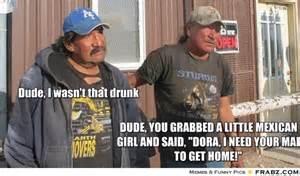 Drunk Mexican Meme - i like you a little memes